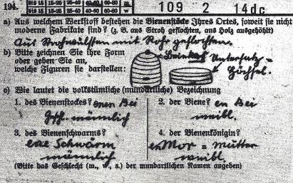 Abb. 115 Karten zur Umfrage des Atlasses der Deutschen Volkskunde (ADV), 1933 (Volkskundliches Institut der Universität Bonn)