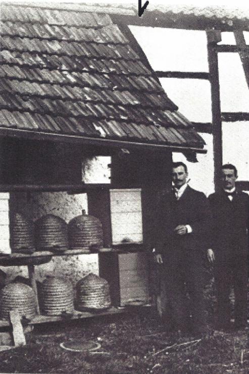 Bienenstand in Hümmel 1925