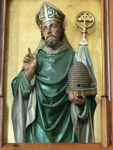 Ambrosius von Mailand, Statue, Sankt Peter am Wimberg