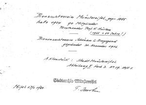 Mitglieder des Imkervereins 1924 (Stadtarchiv Bad Münstereifel)